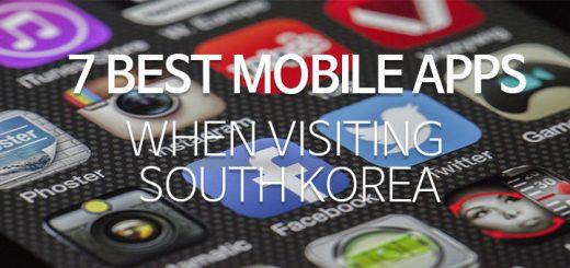 7 best mobile apps for South Korea